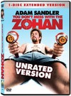 You Don't Mess With the Zohan (Region 1 DVD)