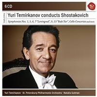 Shostakovich Shostakovich / Temirkanov / Temirkano - Termirkanov Conducts Shostakovitch (CD) - Cover