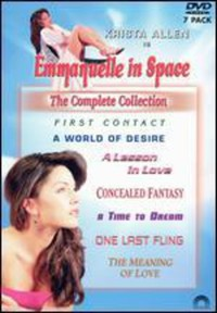 Emmanuelle In Space Collection (Region 1 DVD) - Cover