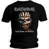 Iron Maiden Book of Souls Mens Black T-Shirt (Small)