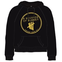 5 Seconds of Summer Derping Stamp Hoodie Black (Small) - Cover