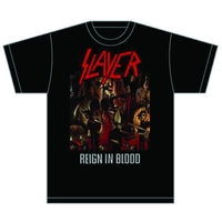 Slayer Reign in Blood Mens T-Shirt (XX-Large) - Cover