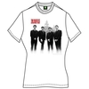 The Beatles The Beatles In Liverpool Ladies White T-Shirt (Large)
