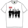 The Beatles The Beatles In Liverpool Mens White T-Shirt (Large)