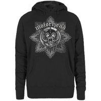 Motorhead Pig Badge Ladies Hoodie (Large) - Cover