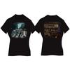 Abbey Road Ladies Black Vintage Print T-Shirt (Large)