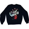 Judas Priest British Steel Mens Black Sweatshirt (Large)