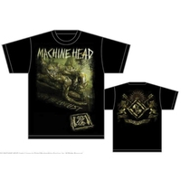 Machine Head Scratch Diamond Cover Mens T-Shirt (X-Large) - Cover