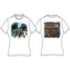 Abbey Road Ladies White Vintage Print T-Shirt (Large)