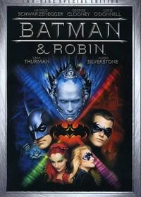 Batman & Robin (Region 1 DVD) - Cover
