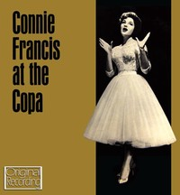 Connie Francis - At the Copa (CD) - Cover