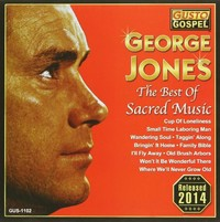 George Jones - Best of Sacred Music (CD) - Cover