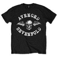 Avenged Sevenfold Classic Deathbat Black T-Shirt (XX-Large) - Cover
