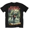 Avenged Sevenfold England Mens Black T-Shirt (Medium)
