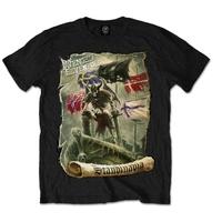 Avenged Sevenfold Germany Mens Black T-Shirt (X-Large) - Cover