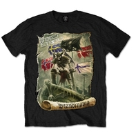 Avenged Sevenfold Germany Mens Black T-Shirt (XX-Large) - Cover
