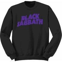 Black Sabbath Wavy Logo Youth Sweatshirt 9-11 (X-Large) - Cover