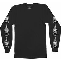 Bring Me The Horizon Devil's Hands Long Sleeved T-Shirt Black (Large) - Cover