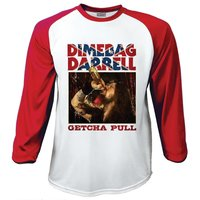 Dimebag Getcha Pull Raglan Baseball Long Sleeve T-Shirt (X-Large) - Cover