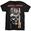 Ghost Here's Papa Men's Black T-Shirt (X-Large)