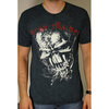Iron Maiden FF Eddie Puff Illuminous Print T-Shirt (Medium)
