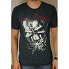 Iron Maiden FF Eddie Puff Illuminous Print T-Shirt (X-Large)
