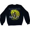 Iron Maiden Killers 81 Mens Black Sweatshirt (Medium)