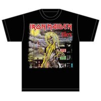 Iron Maiden Killers Cover Mens T-Shirt (Large) - Cover