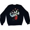 Judas Priest British Steel Mens Black Sweatshirt (XX-Large)