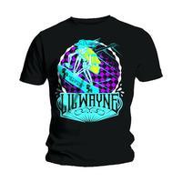 Lil Wayne Get Money Mens Black T-Shirt (X-Large) - Cover