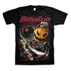 Motley Crue Halloween Men's Black T-Shirt (Large)