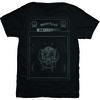Motorhead Amp Stack Mens Black T-Shirt (Medium) Cover