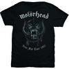 Motorhead Grey Warpig Mens Black T-Shirt (X-Large)
