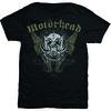 Motorhead Wings Mens Black T-Shirt (Medium)