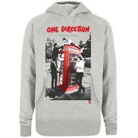 One Direction Take Me Home Grey Ladies Hooded Top (Large) - Cover