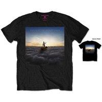 Pink Floyd Endless River Men's Black T-Shirt (Small) - Cover