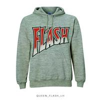Queen Flash Pullover Hoodie Grey (Small) - Cover
