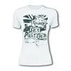 Sex Pistols Flag Tour White Ladies T-Shirt (Large)