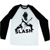 Slash Snowblind Raglan Baseball Long Sleeve T-Shirt (XX-Large) - Cover