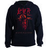 Slayer Repentless Crucifix Mens Pullover Hoodie (Large)