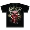 Slayer Skull Clench Mens T-Shirt (Small)