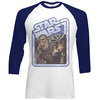 Star Wars Chewie & Han Raglan Baseball Long Sleeve T-Shirt (Large)