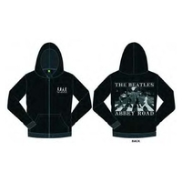 The Beatles Abbey Road Mens Hoodie  Black (Large) - Cover