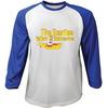 The Beatles Yellow Submarine Blue & White Baseball Long Sleeve T-Shirt (XX-Large)