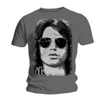 The Doors Summer Glare Mens Grey T-Shirt (Medium) - Cover