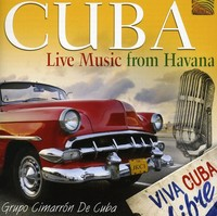 Cuba: Live Music From Havana / Various (CD) - Cover