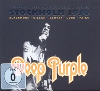 Deep Purple - Stockholm 1970 (CD) - Cover