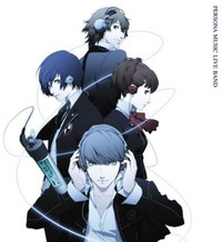 Persona - Music Live Band (CD) - Cover