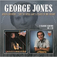 George Jones - Jones Country / You'Ve Still Got a Place In My (CD) - Cover