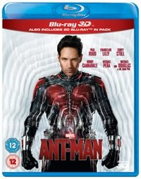 Ant-Man (3D Blu-ray) - Cover